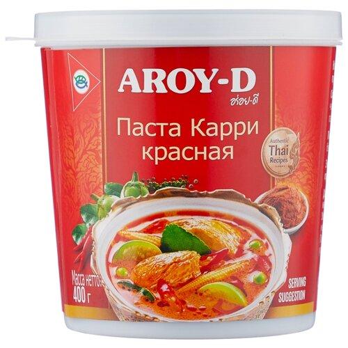 Aroy-D Паста Карри красная 400 г