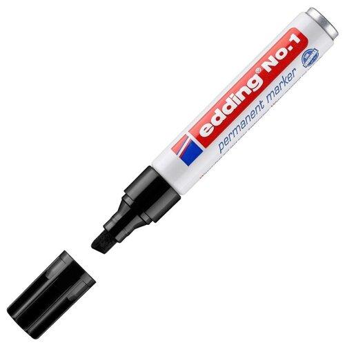 Маркер перманентный Edding E-1 маркер перманентный edding retract 11 черный грифель 1 5 3 мм