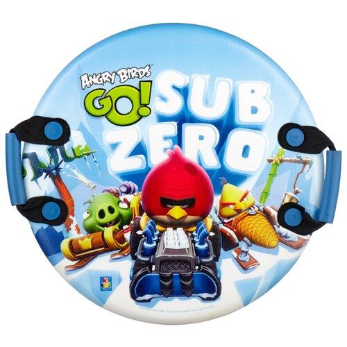 ледянка 72х41 см прямоугольная angry birds 1toy Ледянка 1 TOY Angry Birds Т57213
