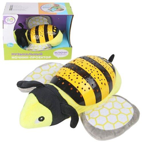 Игрушка-ночник Ути-Пути Пчелка ути пути развивающий коврик цветочная принцесса