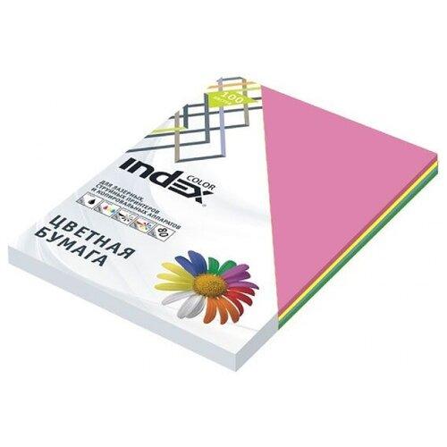 Фото - Бумага цветная Index Color 80 футбольный мяч nike barcelona strike sc3365 455