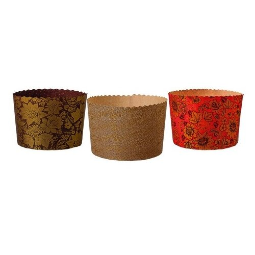 Набор бумажных форм для выпечки набор мини форм для выпечки bw0855ss mc в ассортименте