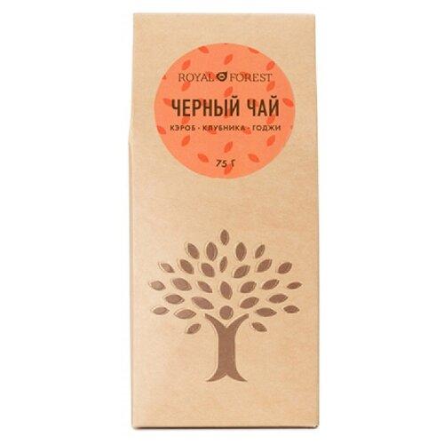 Чай черный Royal Forest кэроб фото