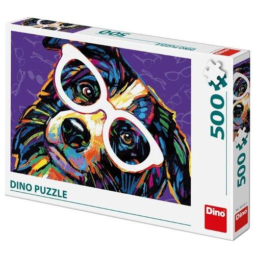 Пазл Dino Собака в очках 502352