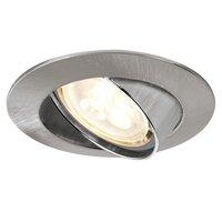 Встраиваемый светильник Premium EBL Set schw. LED 3x4W Eis geb 92533