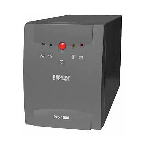 Интерактивный ИБП SVEN Pro 1000 ибп sven pro 800 2 euro