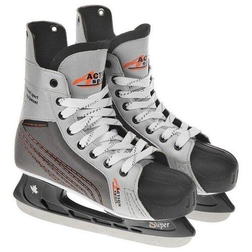 Хоккейные коньки Action PW-216N коньки хоккейные action pw 216ae р 42
