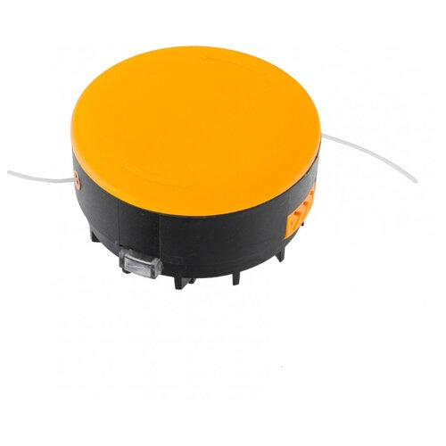 Фото - Denzel головка триммерная 96349 катушка триммерная автоматическая для denzel te 650 артикула 96620 в блистере гайка m6 denzel