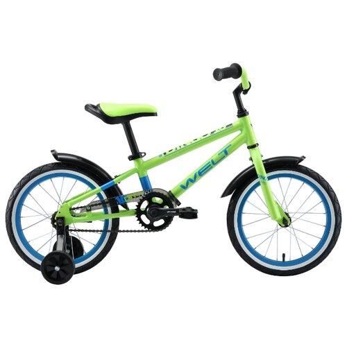 Детский велосипед Welt Dingo 16 велосипед welt peak 24 disc 2019