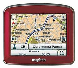 Навигатор MAPITAN RoadVector Cherry