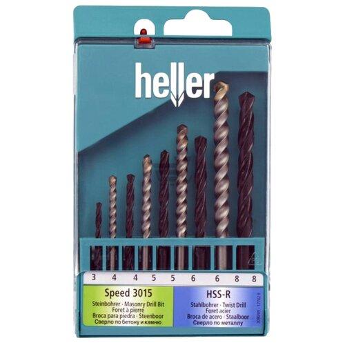 Набор сверл Heller 17742 9
