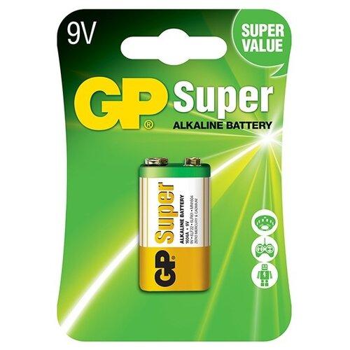 Фото - Батарейка GP Super Alkaline 9V батарейки gp super alkaline lr03 30 шт gp 24a b30