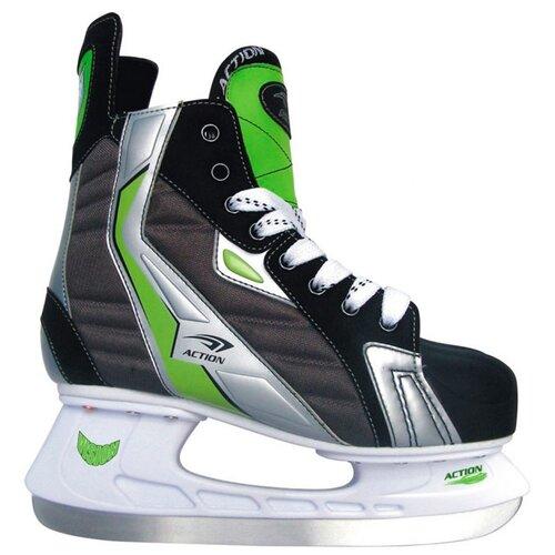 Хоккейные коньки Action PW-216AE коньки хоккейные action pw 216ae р 42