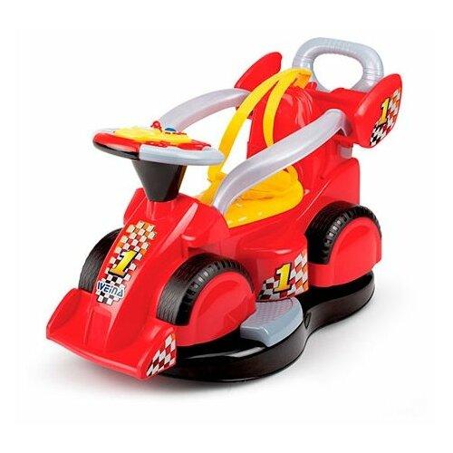 Каталка-качалка Weina Formula 1 игрушка weina пианино со стулом 2079