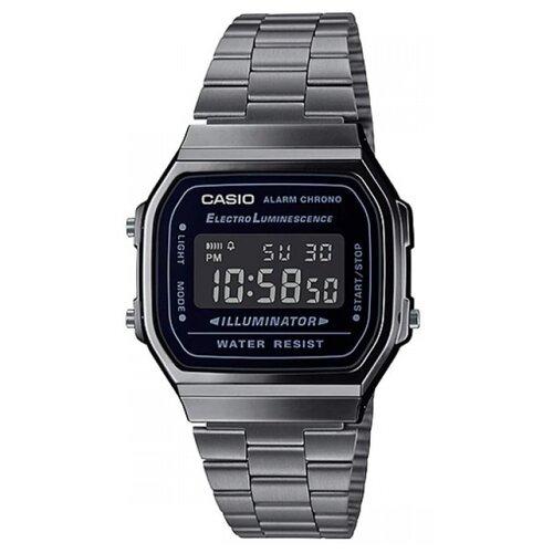 Наручные часы CASIO A-168WGG-1B casio aqf 102w 1b
