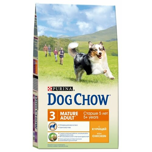 Корм для собак DOG CHOW Mature dog chow dry food for puppies up to 1 year old with chicken 14 kg