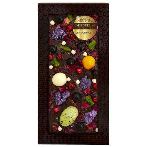 Фото - Шоколад Chokodelika тёмный шоколад chokodelika с добавлением ягод годжи смородины и брусники 75 г