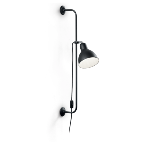Бра IDEAL LUX Shower AP1 Nero с