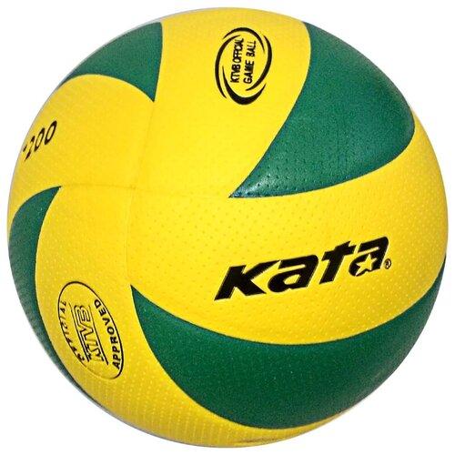 Волейбольный мяч Kata C33284 волейбольный мяч kata 4500 белый зеленый красный
