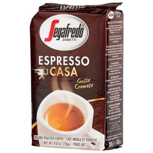 Фото - Кофе молотый Segafredo ESPRESSO segafredo intermezzo кофейный набор кофе молотый 250 г термокружка 400 мл