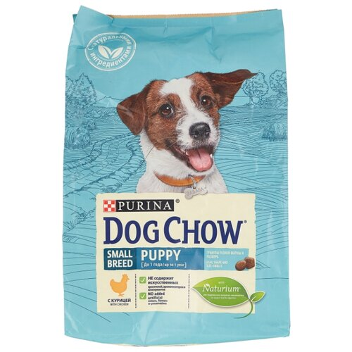 Корм для щенков DOG CHOW курица dog chow dry food for puppies up to 1 year old with chicken 14 kg