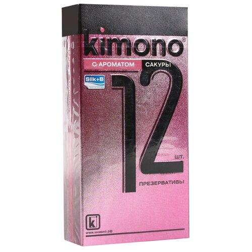 Презервативы Kimono С ароматом tassel trim paisley kimono