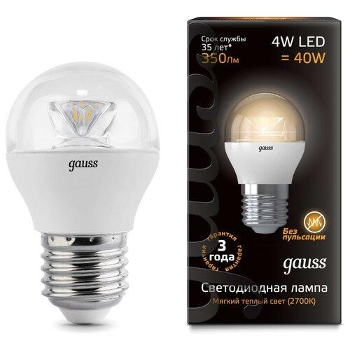 Лампа светодиодная gauss светодиодная лампа gauss eb103102104