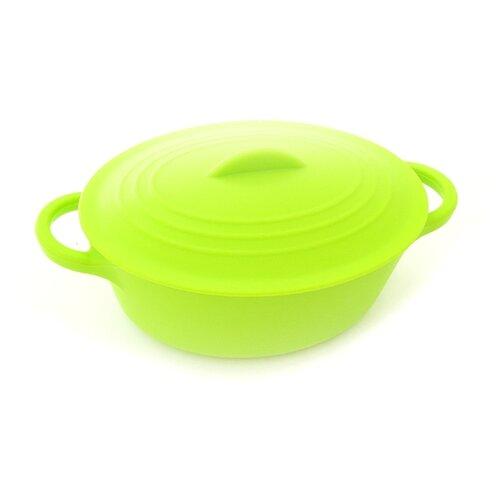Кастрюля для запекания Fissman сковорода для жарки midnight sydney 24x5 5 см fissman 5055
