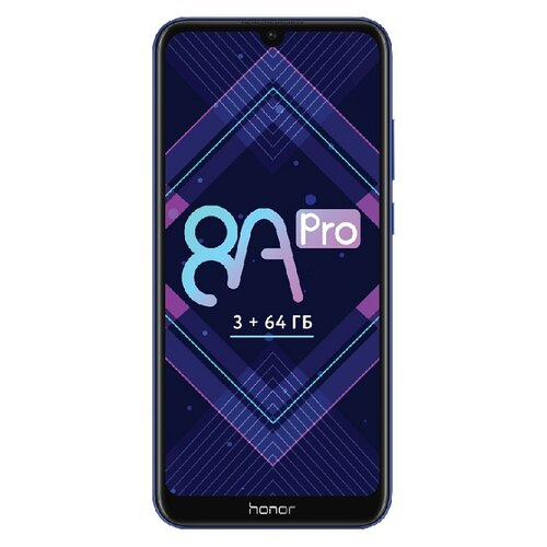 Смартфон Honor 8A Pro смартфон honor 8a black 2 32