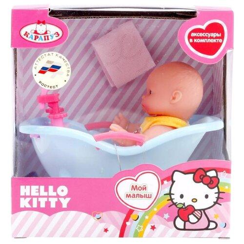 Пупс Карапуз Hello Kitty 10 см