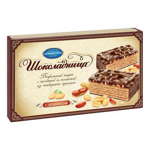 Торт Шоколадница с арахисом