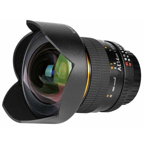 Фото - Объектив Samyang 14mm f 2.8 ED samyang mf 14mm f 2 8 ed as if umc sony e