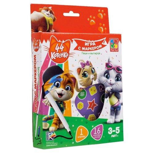 Настольная игра Vladi Toys 44 card games vladi toys vt5000 02 boy boys girl girls board game baby kids play