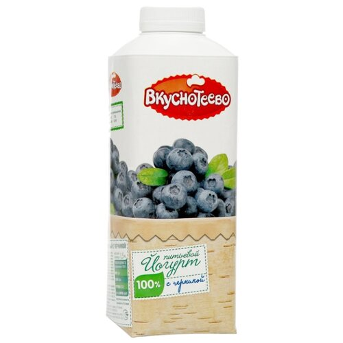 Питьевой йогурт Вкуснотеево