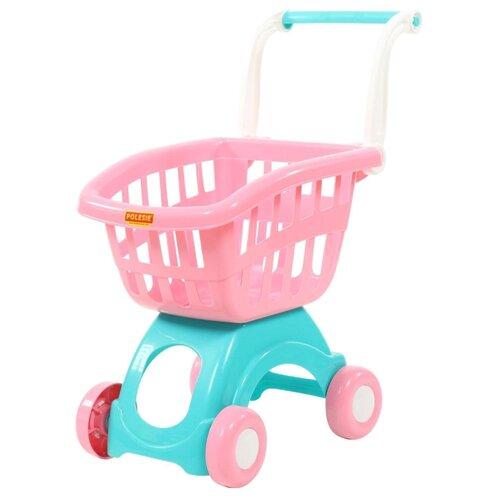 Фото - Тележка для покупок Полесье 71262 полесье игрушечная тележка supermarket 1 с набором продуктов цвет в ассортименте