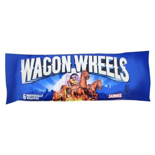 Пирожное Wagon Wheels Jammie red wagon