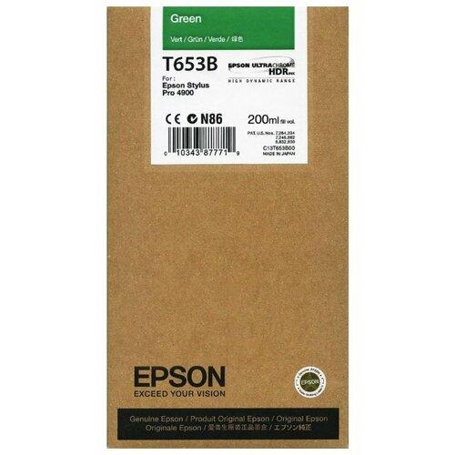 Картридж Epson C13T653B00 mantra 5845