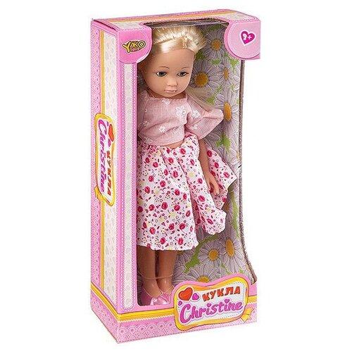 Кукла Yako Cristine 35 см M7578-1 кукла yako m6579 2
