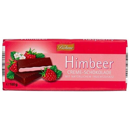 Шоколад Bohme Himbeer темный с