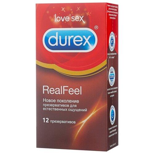 Презервативы Durex RealFeel durex 10