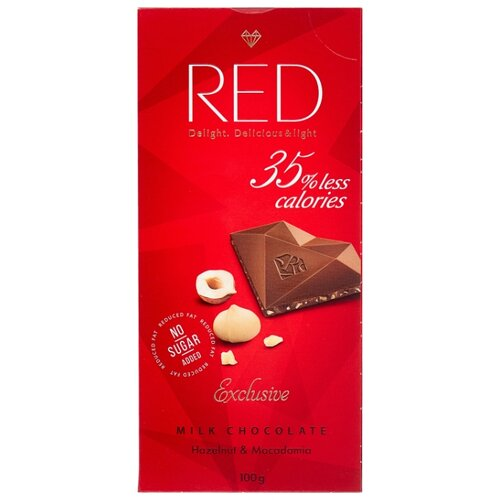 Фото - Шоколад Red Молочный RED Фундук 72032 01701 red malgrado