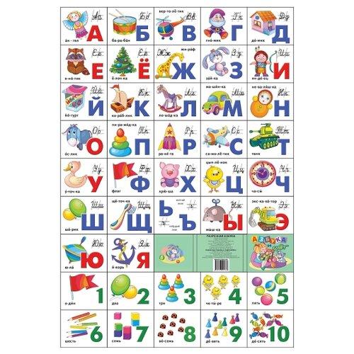 Азбука русская разрезная + азбука разрезная средняя