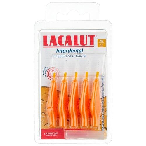 Зубной ершик Lacalut интердентальный ершик рр м 5 шт lacalut интердентал