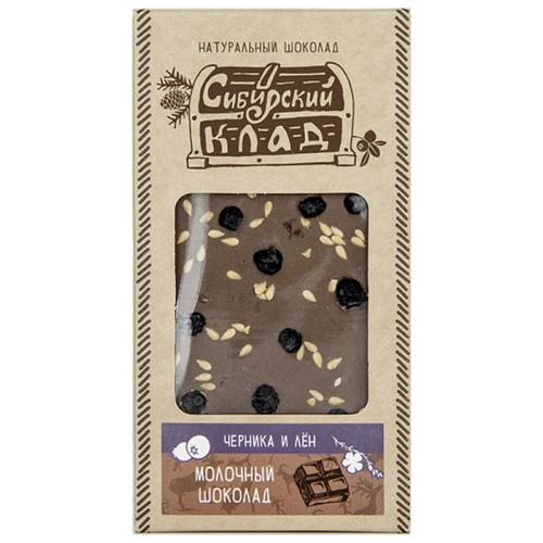 Шоколад Сибирский Клад молочный