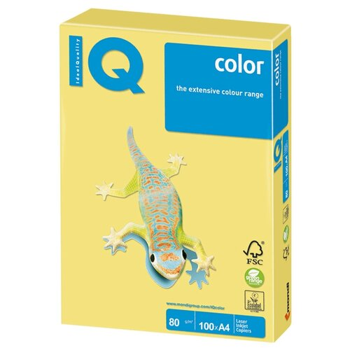 Фото - Бумага A4 100 шт. IQ color ZG34 biosilk шампунь шелковая терапия 207 мл
