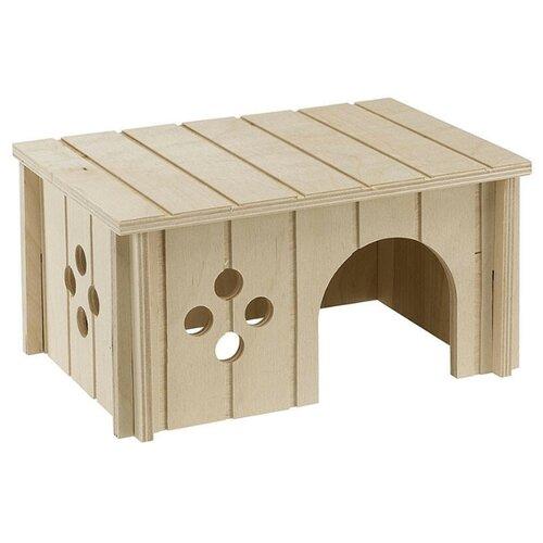 Домик для грызунов Ferplast SIN домик для грызунов ferplast sin 4642 деревяный 14 5x9 5x8 5см