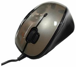 Мышь LOGICFOX LF-GME Silver-Black 034 USB