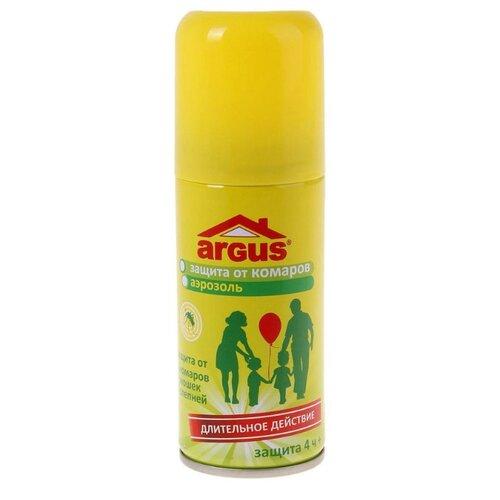 Аэрозоль ARGUS от комаров мошек свеча от комаров argus