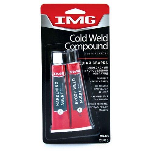Клей холодная сварка IMG MG-425 холодная сварка алмаз 4867 58гр универсальная