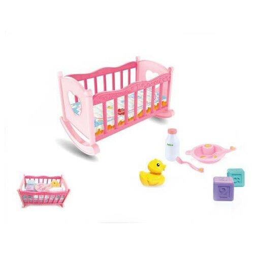 Наша игрушка Кроватка для куклы игрушка